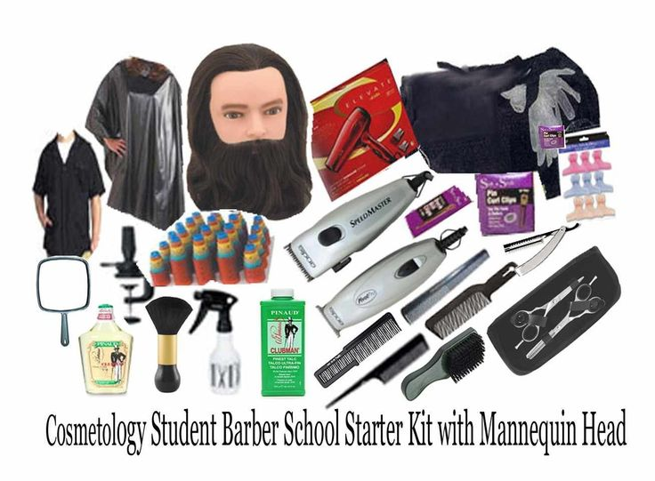Cosmetology Student Barber School Starter Kit w/ Mannequin Head -- Check this awesome product by going to the link at the image.
