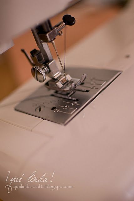Sewing Machine Tips - extremely helpful tips on needles, tension, and stitch length.