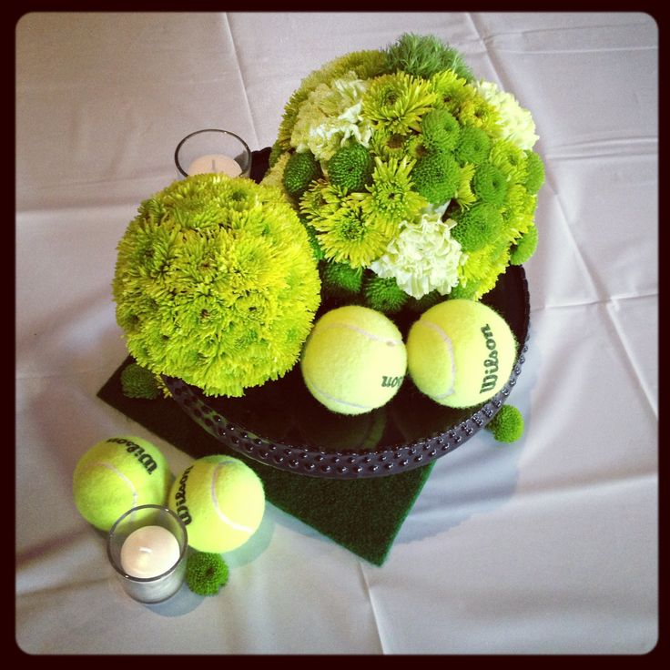 Why Isnu0027t Anyone Throwing Me Tennis Themed Shenanigans With Really  Elaborate Center Pieces