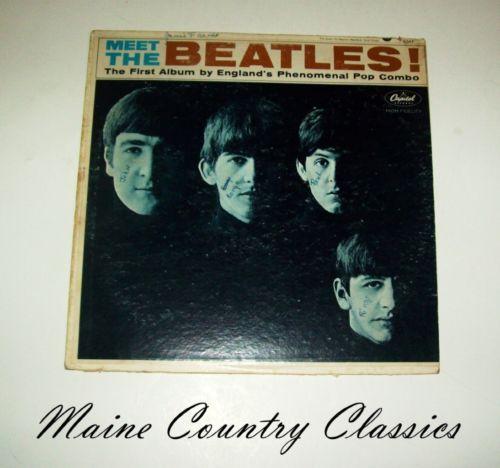 meet the beatles vinyl value