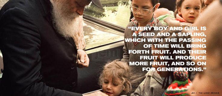 The Lubavitcher Rebbe, Rabbi Menachem Mendel Schneerson, of righteous memory