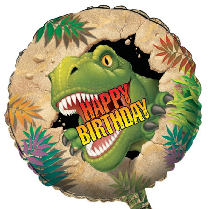 Wholesale Dino Blast Mylar Balloons 12 ct - Napkins.com