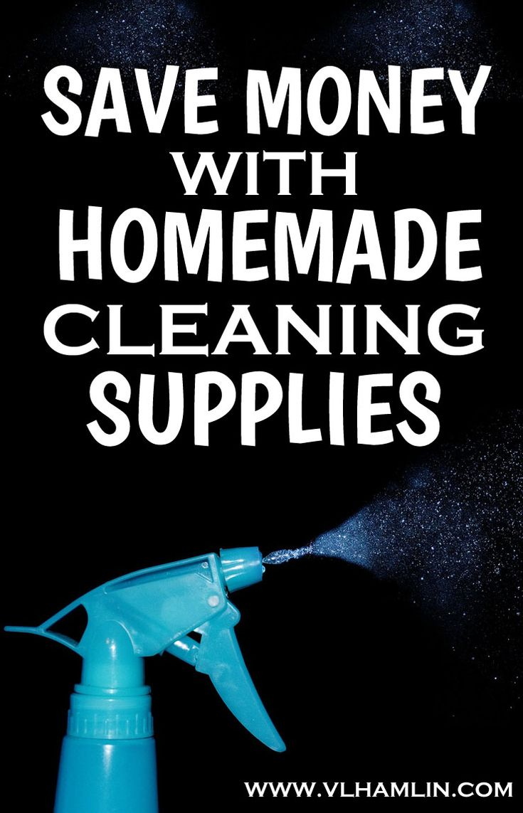 Are you sick of spending your money on expensive cleaning supplies? This post has recipes for homemade cleaning supplies to use in every room in your house!