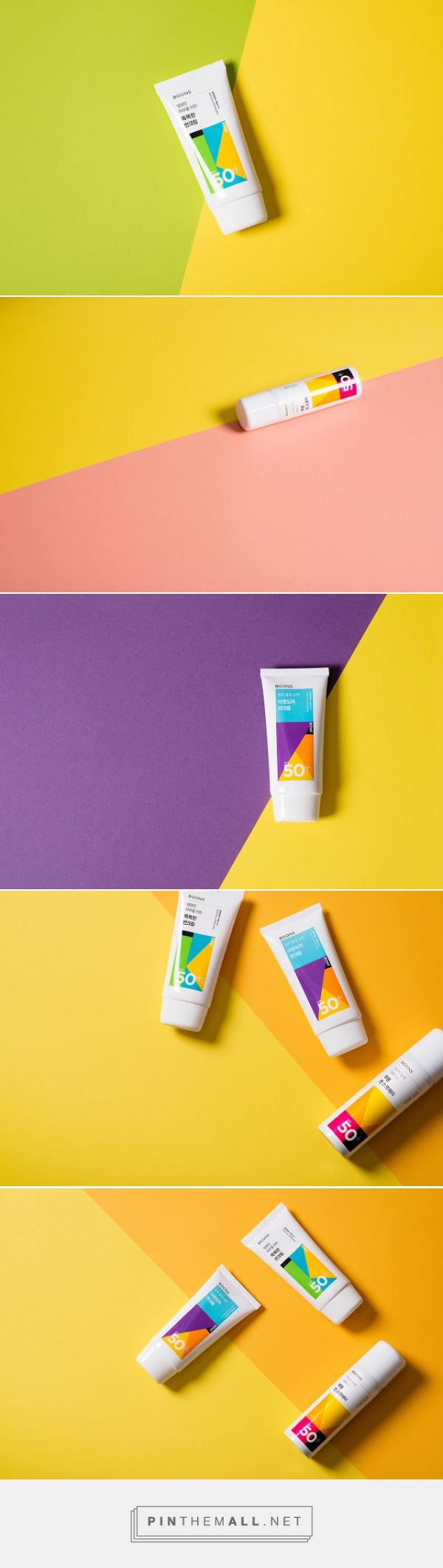 Boons Sun Care Series #packaging by Chuigraf & ContentFormContext - http://www.packagingoftheworld.com/2014/12/boons-sun-care-series.html