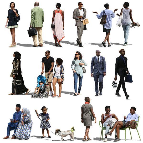 Texture Psd African People Black African People People Illustration Render People