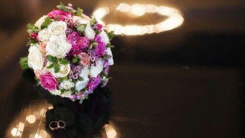 Букет невесты, розовый букет невесты