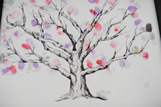 Guest book tree