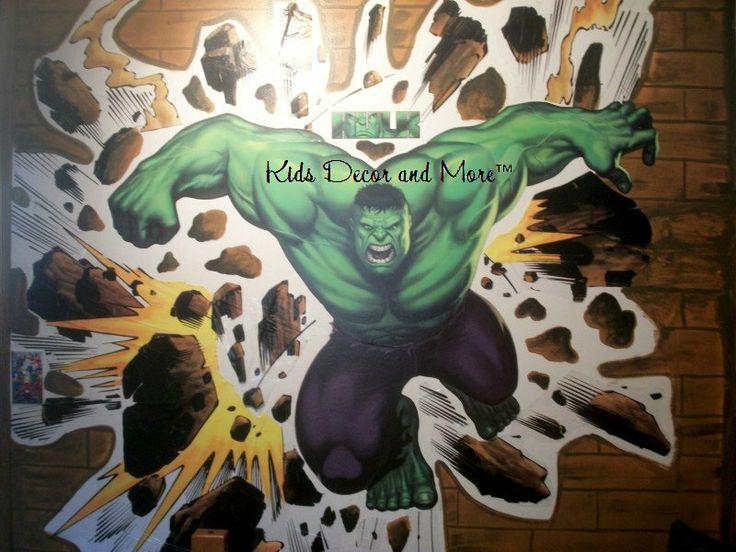 incredible boys sports bedroom ideas   38 best images about Hulk bedroom Hayden on Pinterest ...
