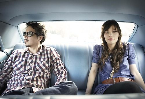 Check out indie band She & Him. Zooey Deschanel and 60's flair.