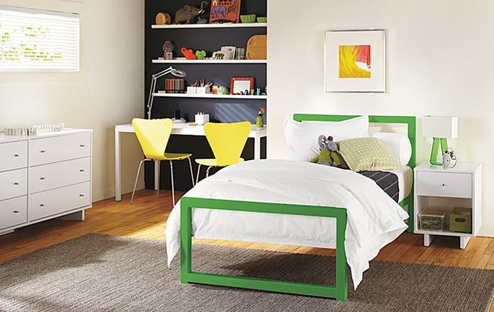 bed: Kids Bedrooms, Beds Rooms, Boys Bedrooms, Boys Rooms, Twin Beds, Beds Frames, Piper Beds, Dark Wall, Kids Rooms