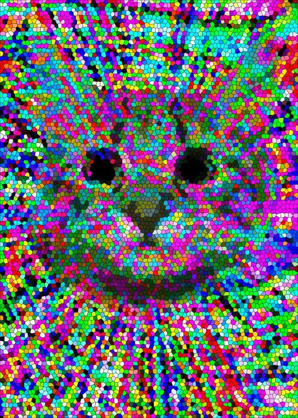 Hypno Lsd Cat by J.P. Voodoo  Hypno Lsd Cat by J.P. Voodoo Gallery quality print on thick 45cm / 32cm metal plate. Each Displate print verified by the Production Master. Signature and hologram added to the back of each plate for added authenticity & collectors value. Magnetic mounting system included.  EUR 39.00  Meer informatie