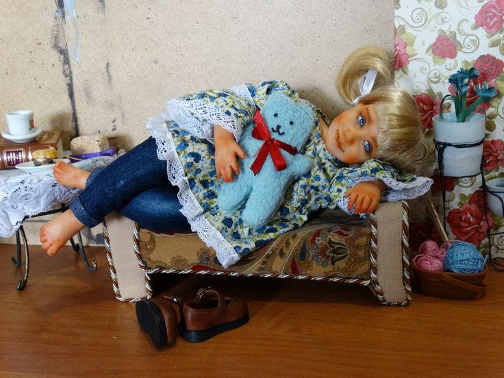 Один день из жизни проказницы Ленки / Авторские куклы своими руками, ручной работы / Бэйбики. Куклы фото. Одежда для кукол