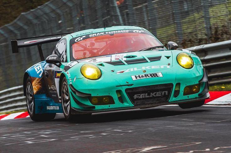 "schwarzie11 ""Flying Falken Porsche. "" Porsche 911 gt3"