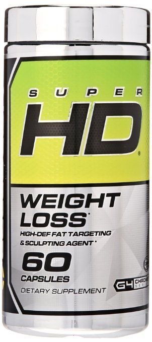 Cellucor Super HD Thermogenic Fat Burner Supplement for Weight Loss 60 Capsules #Cellucor