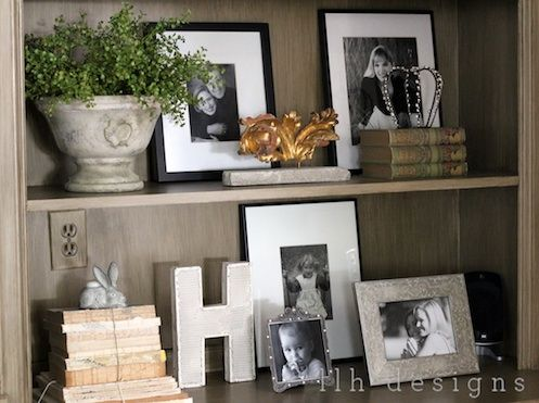 Letters, old books, photos, fragments, a little sparkle...go check out this beautiful blog...LLH Designs.  It is gorgeous!