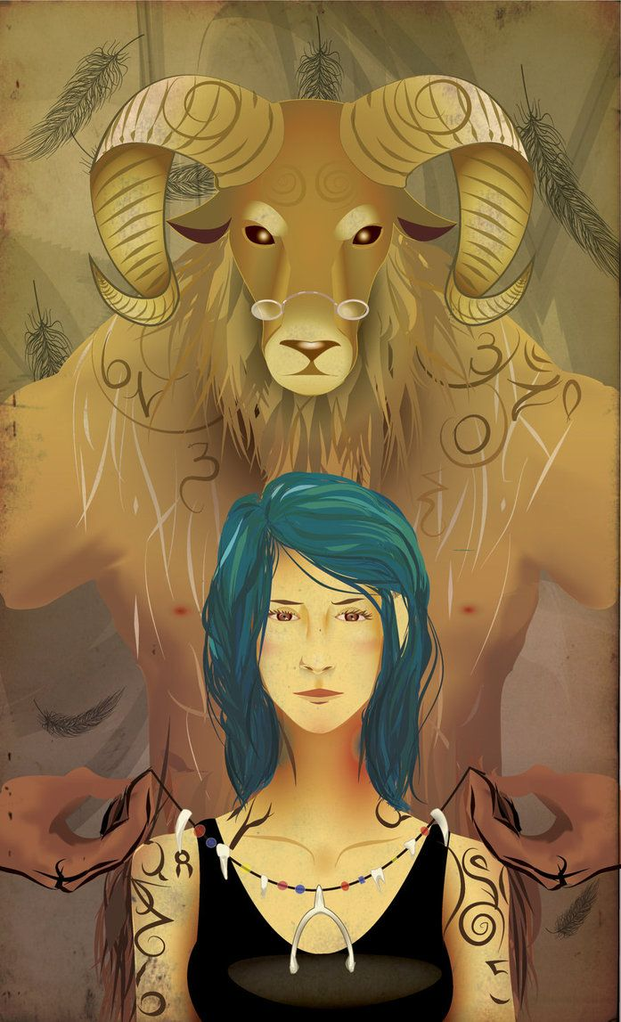 "Karou and Brimstone by ~Calivel on deviantART. From ""Daughter of Smoke and Bone"" by wonder of wonders Laini Taylor"
