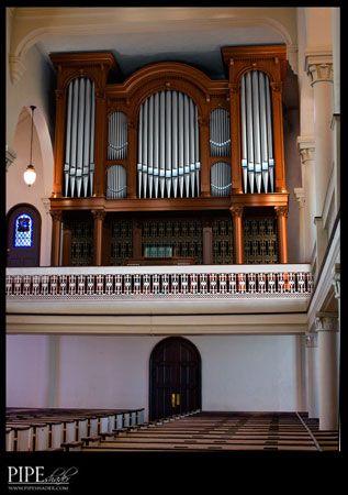 Pipe Organ At St Georges Episcopal Church Fredericksburg VA