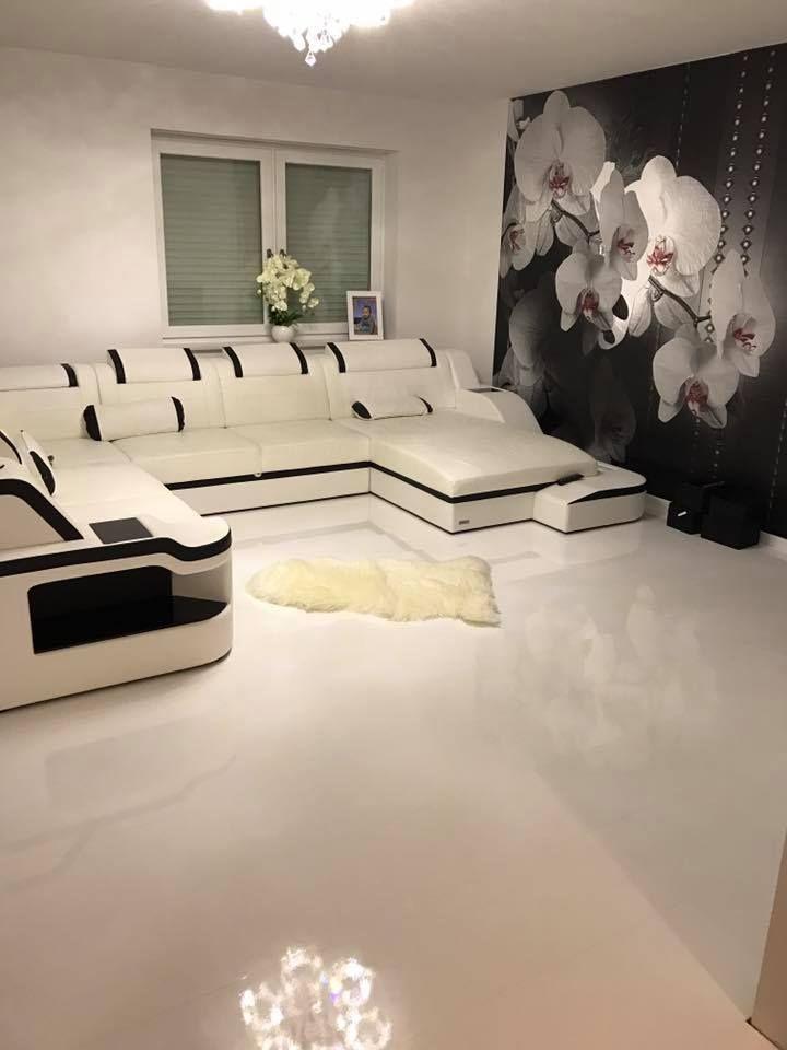 Leder Wohnlandschaft Palermo Living Room Sofa Set Sofa Design Home Cinema Room