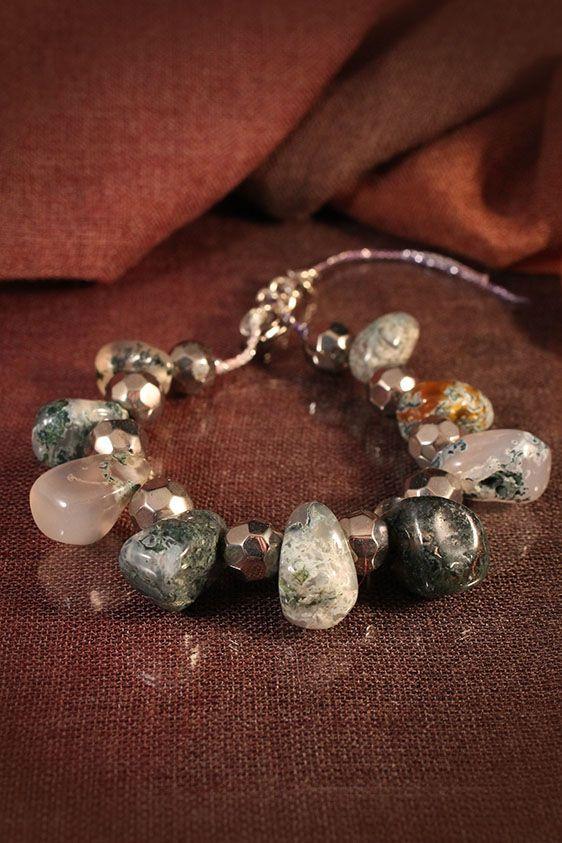 Semi precious stone bracelet by Lorien (totally unique handmade accessories)
