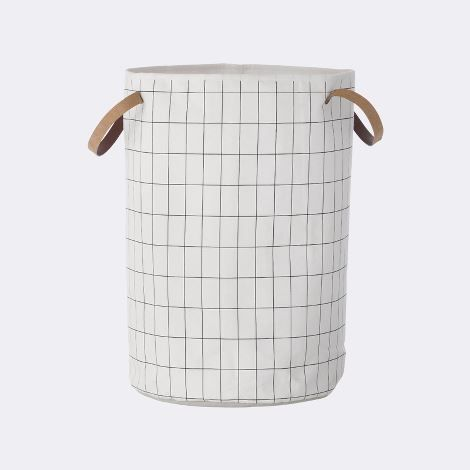 Grid Laundry Basket, ferm living