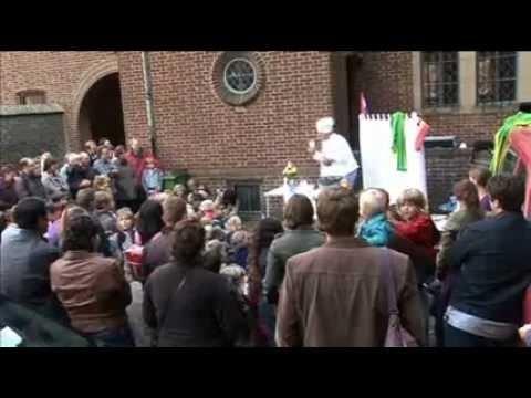 Jaarlijks vertel festival bij rattentoren Roermond