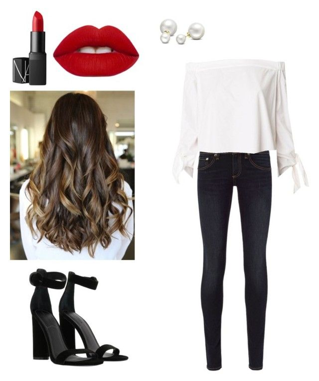 """Sin título #26"" by guari-mr on Polyvore featuring moda, rag & bone, TIBI, Lime Crime, NARS Cosmetics, Kendall + Kylie y Allurez"