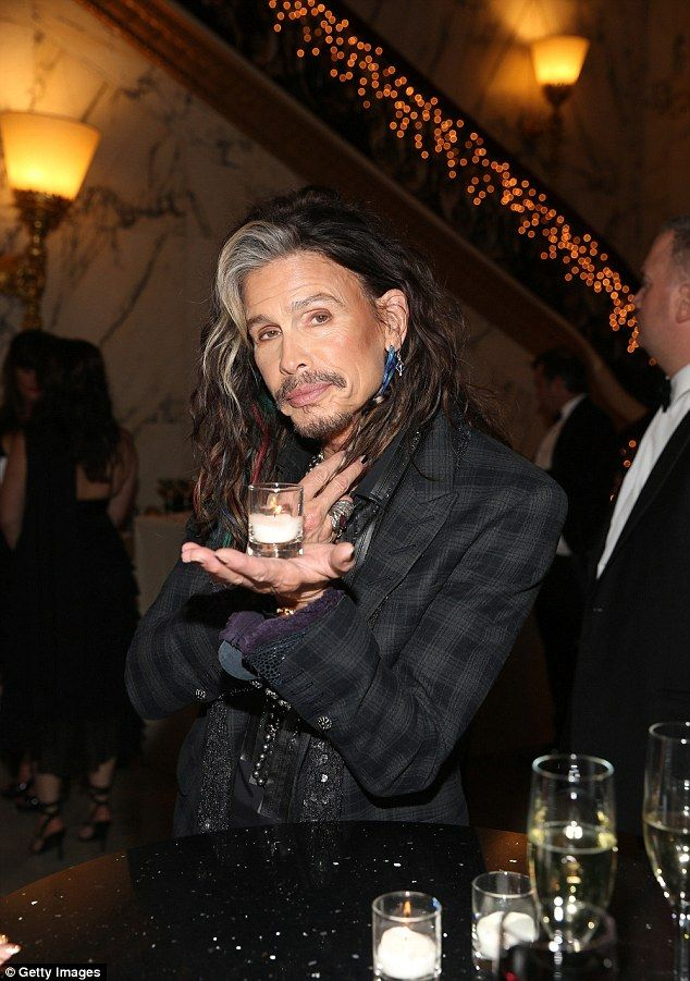 Steven Tyler--hot as ever...that candle still burns...ouch!