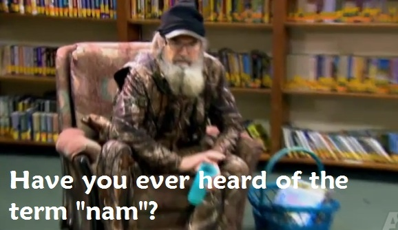 Duck Dynasty love Uncle Si he's so funny!