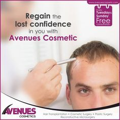Hair transplantation can acquire better hair results at an affordable costs and if you are looking for better hair transplantation results at better costs you must only choose to go for hair transplantation at Avenues Cosmetic clinic because it offer better results at most affordable Hair Transplant Price In Ahmedabad.
