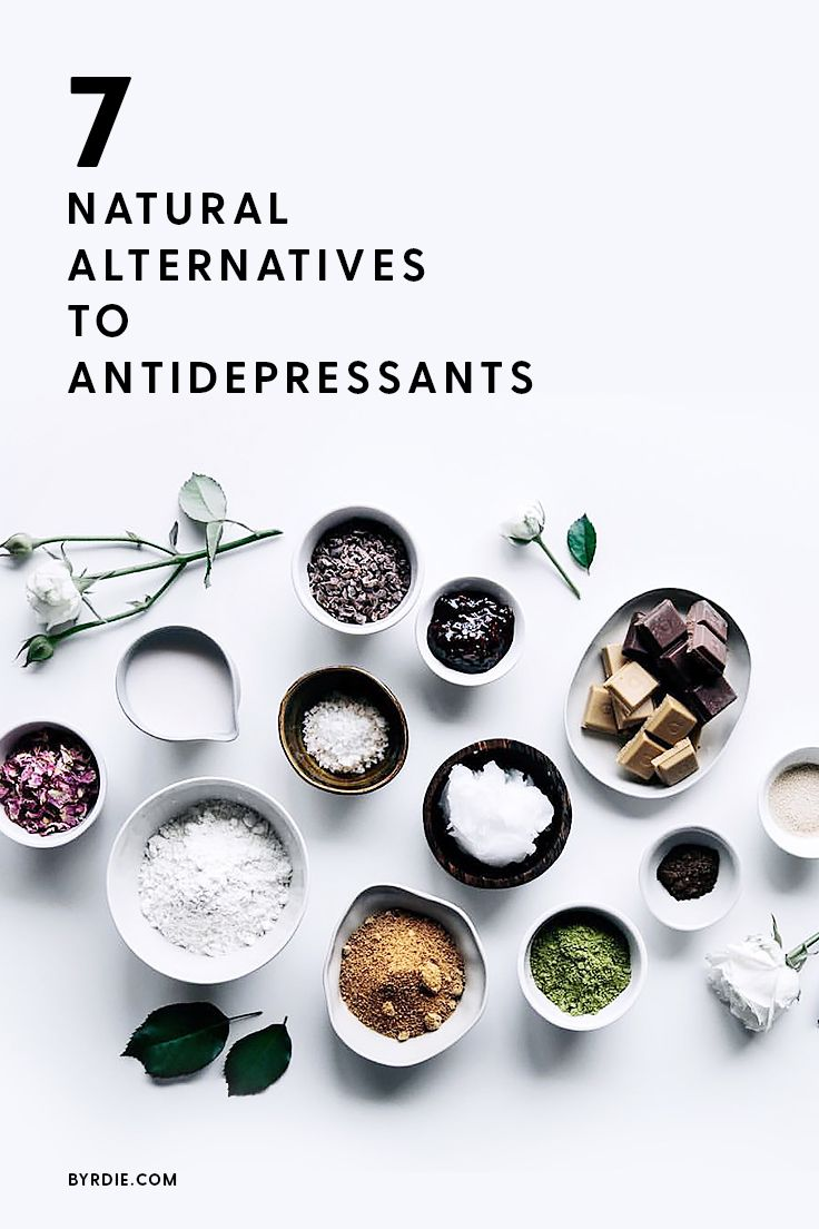 Natural alternatives to taking antidepressants