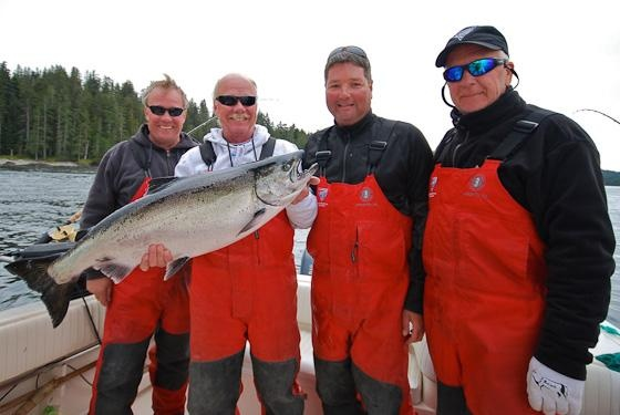 Salmon Fishing Report: August 20, 2012 | Langara Island, BC