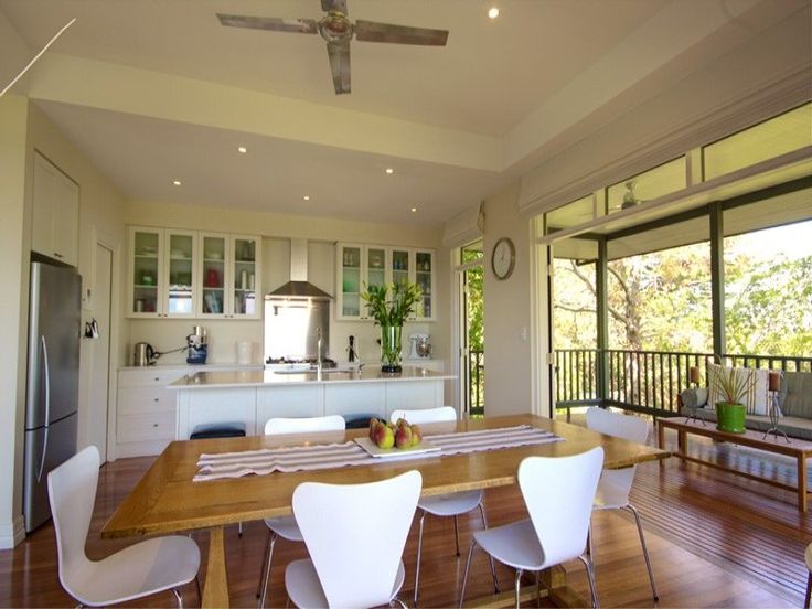 kitchen love!  Love the layout, colours and link to outdoors