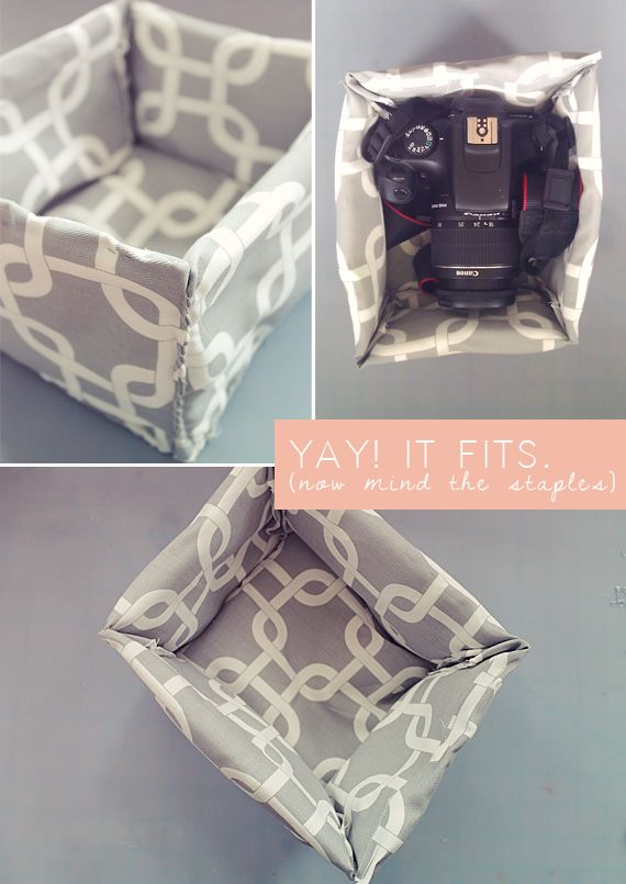 making this: diy camera case
