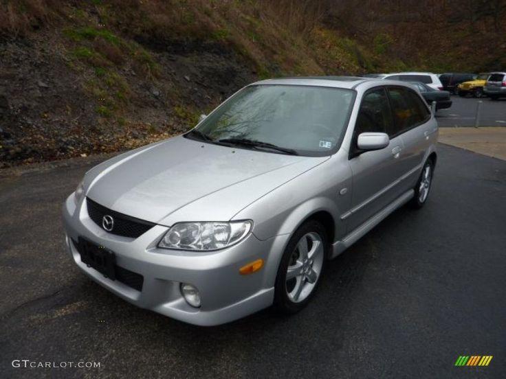 Sunlight Silver Metallic 2003 Mazda Protege 5 Wagon Exterior Photo #40616138