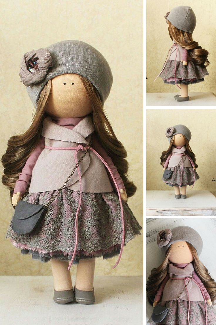 Tilda doll handmade Fabric doll Home doll Rag doll Decor doll Baby doll unique magic doll by Master Margarita Hilko