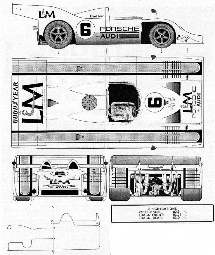 The 304 best Racing Car blueprint images on Pinterest | Cars, Rally ...