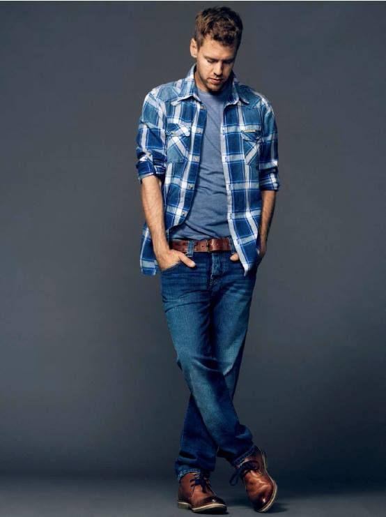 Sebastian Vettel for Pepe Jeans