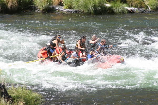 White Water Rafting - Maupin, Oregon