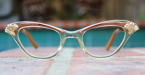 Vintage 1950's Century cat eye combination frames by OldFocals