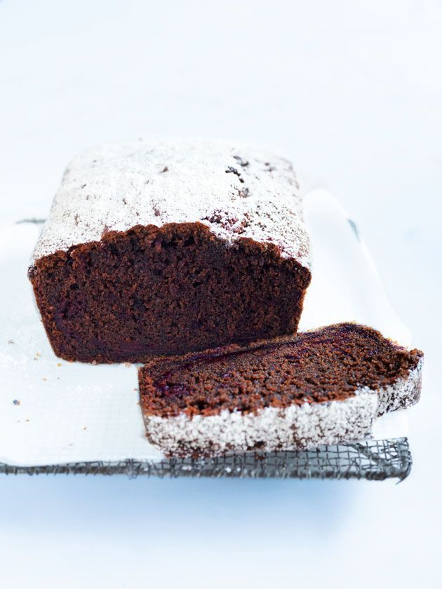 chocolate and beetroot loaf cake from donna hay