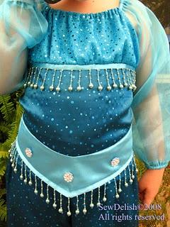 modest jasmine costume