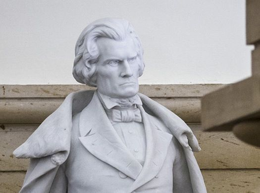john c calhoun and the issue of slavery John c calhoun: john c calhoun, us politician who served in congress, in cabinets, and as vice president and who championed states' rights and slavery.