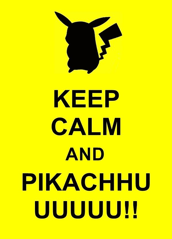 Pokemon Pikachu | keep-calm-pokemon-pikachu