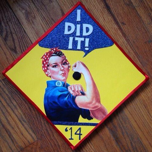 feminist graduation caps - Google Search