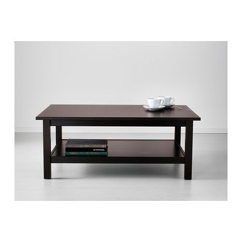 I could display photos on the tabletop and cover it with glass to protect them.   HEMNES Coffee table IKEA Solid wood has a natural feel.