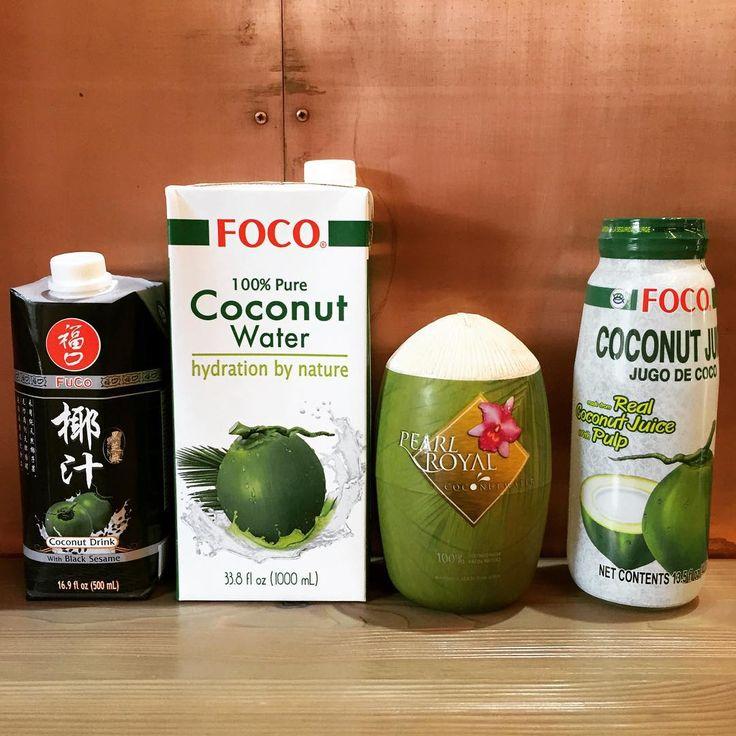 В нашей семье кокосовых продуктов прибыло;) Кокосовый напиток с чёрным кунжутом, Кокосовая вода объемом 1л., Кокосовая вода с мякотью кокоса- 0,4л., Лечебные свойства кокосовой воды известны с давних времён. Это настоящий витаминный коктейль, который заряжает организм энергией. Благодаря своему уникальному составу сок кокосового ореха используется для нормализации кровяного давления, лечения кожных заболеваний и для устранения обезвоживания. Кокосовая вода рекомендована тем, кто активно…