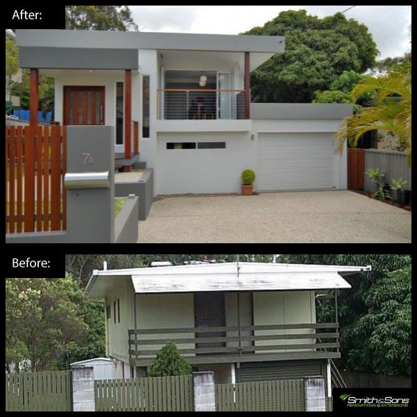 This project entailed transforming a worn out beach house into a contemporary residence. This really unlocked the true value of the property as it is located in a fantastic area. #renovation #inspiration #home #remodel #homeimprovement #smithandsonsqld