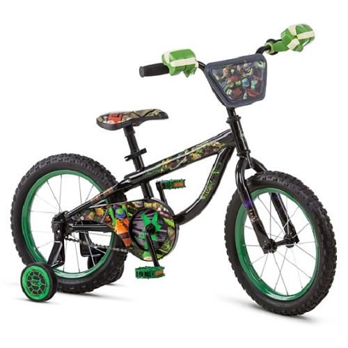 16 inch Teenage Mutant Ninja Turtle Bike  She Loved it. Mikey helmet to go with it :)