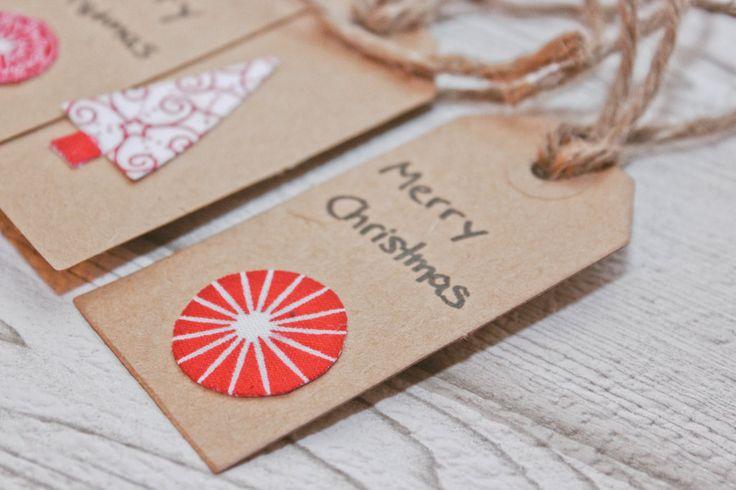 ars textura: Das elfte Türchen... Weihnachtskarten aus Stoffresten, Geschenkanhänger basteln, Stoffreste, DIY present tag, Anhänger, Weihnachten