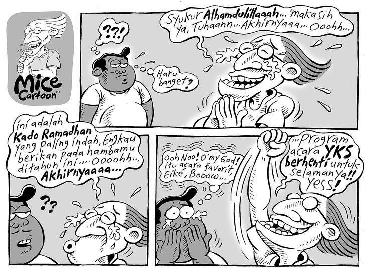 Mice Cartoon, Kompas, 29.06.2014: Kado Ramadhan